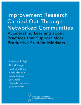 improvement research carried out through networked communities