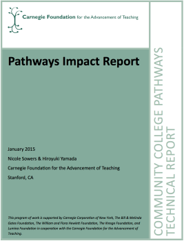 Pathways Impact Report