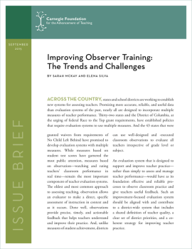 Improving Observer Training: The Trends and Challenges