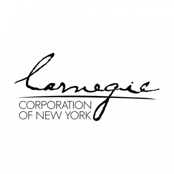 Carnegie Corporation of New York was established by Andrew Carnegie in 1911 to promote the advancement and diffusion of knowledge and understanding. In keeping with this mandate, the Corporation's agenda focuses on the issues that Andrew Carnegie considered of paramount importance: international peace, the advancement of education and knowledge, and the strength of our democracy.