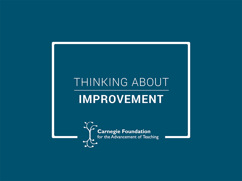 Improvement Discipline in Practice | Carnegie Foundation for the