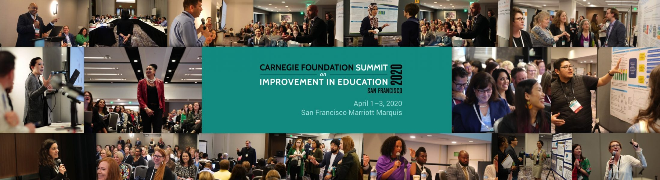 Summit on Improvement in Education | Carnegie Foundation for