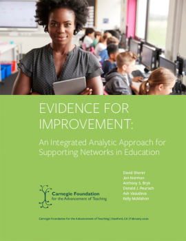Evidence for Improvement: An Integrated Analytic Approach for Supporting Networks in Education
