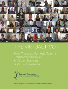 The Virtual Pivot: How The 2020 Carnegie Summit Transformed from an In-Person Event to a Virtual Experience