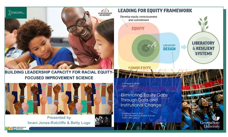Equity sessions collage